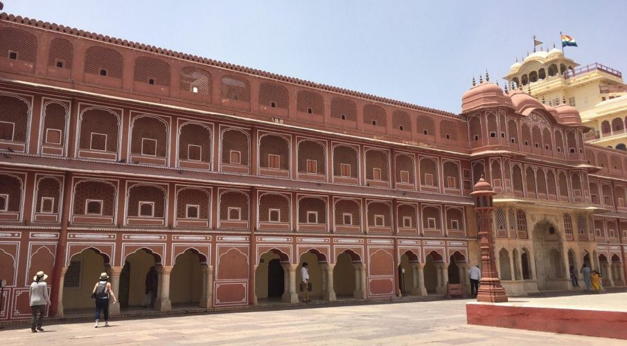 City Palace Interior in Jaipur