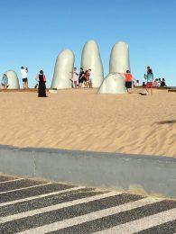 Los Dedos – popular selfie spot at Punta del Este