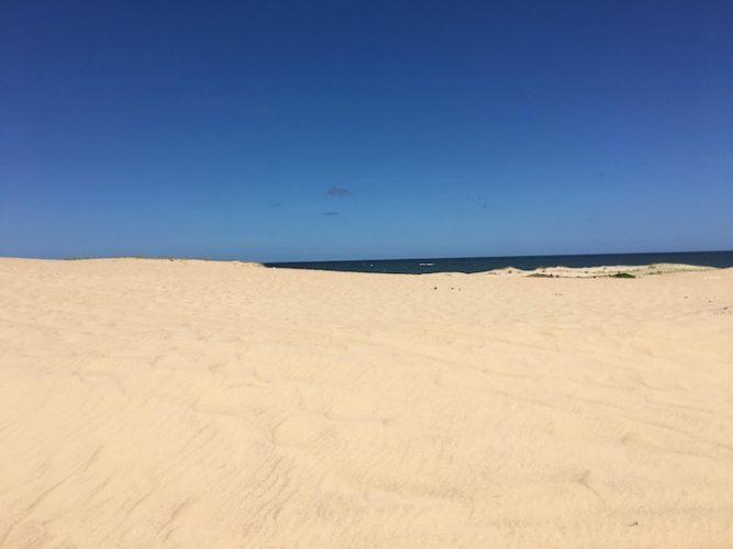 Massive beach