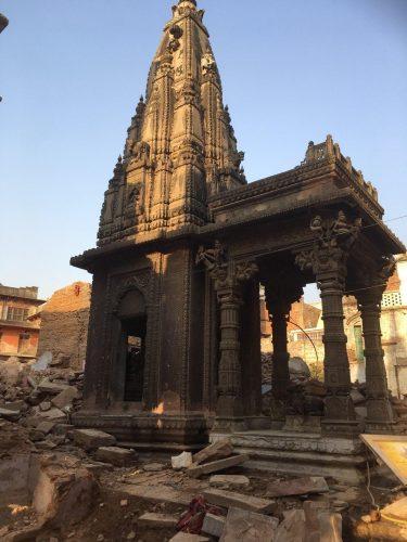 Varanasi - Temple digsite ruins