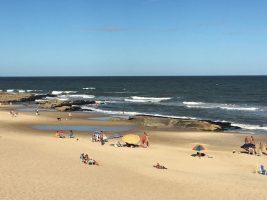 Public beach at Punta del Diablo
